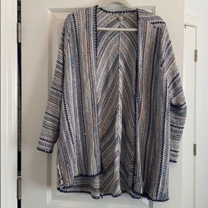 Lucky Brand open front sweater